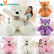[5 COLORS] 100cm giant teddy bear plush toys big stuffed hot toys brinquedos factory price(China)