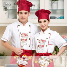 cook uniforms chinese restaurant chef uniform with dragon chinese cook clothing short sleeve fast food clothes