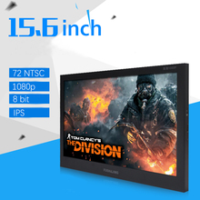 2ms 15.6 inch 1920*1080 IPS LCD Screen Speaker Aerial Monitor 60Hz 8bit Portable Game Display HDMI Car MP4 Player Xb PS4