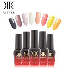 RSTYLE Gel Nail Polish 10 ML Nail Lacquer 31-58 Series UV Gel Varnish Soak off Vernis Semi Permanent Nail Polish Gel Art(China)