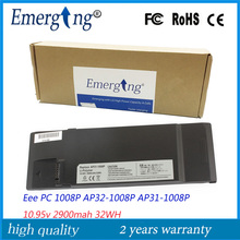 10.95v 31Wh  New Laptop Battery for ASUS  Eee PC AP32-1008P AP31-1008P 1008P