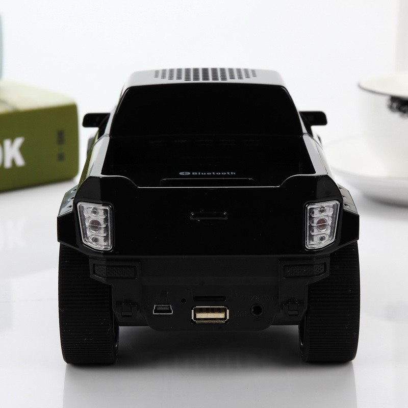 Hifi Stereo Mini Speaker Pickup Car Bluetooth Wireless Speakers with LED Portable Subwoofers for iPhone HTC TF USB MP3 DS-396BT