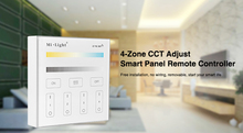 Milight B2 4-Zone CCT Adjust Panel Remote Controller color temperature brightness dimmer for led strip light tape lamp bulb(China)