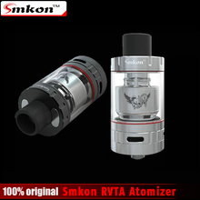 Original Smkon RVTA Atomizer 6ml Huge Capacity Top Filling Air Control System e-cig Atomizer rta Tank for 510 Thread Battery