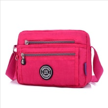 Women Nylon Handbag Brand Monkey JQE Pink Original Bag Sac A Main Femme De Marque Shoulder Crossbody Bag Waterproof Bag
