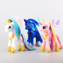 "NEW 3 Styles Princess Luna Plush Toys Princess Cadance &Princess Celestia Stuffed Animals Girls Soft Toys 9"" 23 CM(China)"