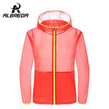 ALBREDA 2017 new spring and summer outdoor male Ms. skin coat thin sunscreen waterproof clothing fast drying UV skin clothing