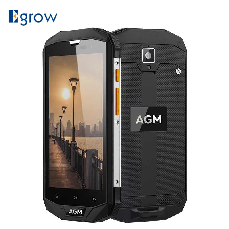 "Original AGM A8 IP68 Waterproof Mobile Phone 5.0""HD 3/4GB RAM 32/64GB ROM Qualcomm MSM8916 Quad Core 13.0MP 4050mAh NFC OTG(China (Mainland))"