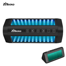 Zinsoko BS-1025 HIFI Strong Bass Bluetooth Speaker 5 colors Modes Bluetooth V4.0 Loudspeakers for Phones PC Projector Tablet(China)