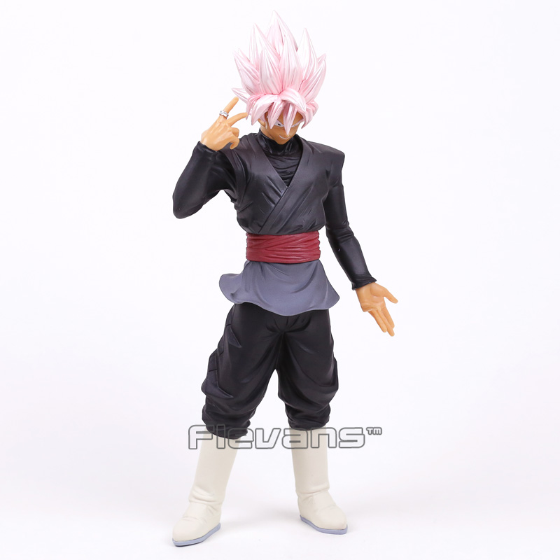 Dragon Ball Z Grandista ROS Resolution of Soldiers Super Saiyan Rose Gokou Black PVC Figure Collectible Model Toy 32cm<br>