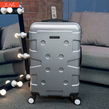 J.M 24in Occident Style Rolling Suitcase ABS Luggage Younger Personality Trolly Spinner Space Case Cute Tuguan Carry-on Baggage