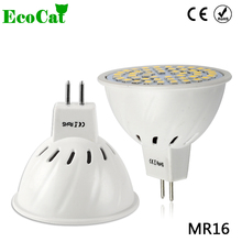 ECO CAT Bright  Lampada LED Bulb MR16 220V 230V Bombillas LED Lamp Spotlight 3W 5W 7W 9W Lampara Spot Light GU5.3 Spotlight