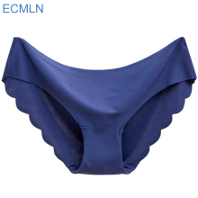 New 1pcs ECMLN Women Invisible Underwear Briefs Cotton Spandex Gas Seamless Crotch Panties Hot#C(China)