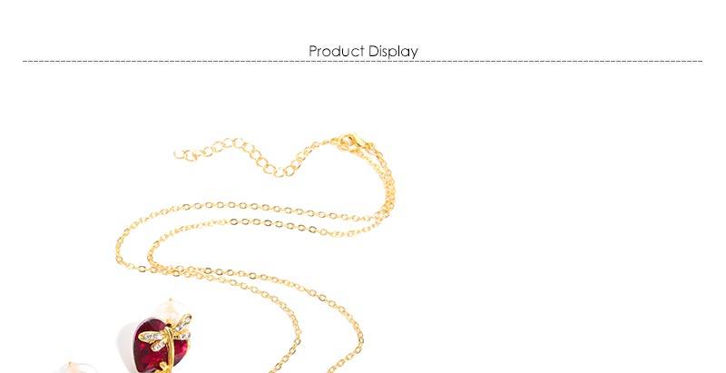 AYAYOO Jewelry Sets Women Gold Color African Beads Jewelry Set Dubai Bridal Luxury Wedding Fashion Necklace Jewellery (1)