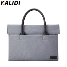 KALIDI 10 11 12 13 14 Inch Laptop Handbag Carry Case Briefcase Notebook Protective Portable Bags for Macbook Air Pro Dell Sony(China)
