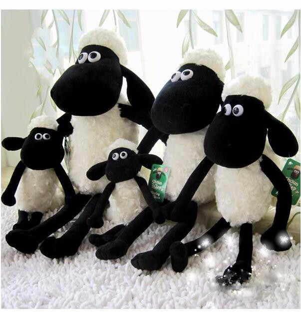 Shaun the Sheep plush mascot plush doll animated cartoon baby toys with children's activities in the annual gift(China (Mainland))