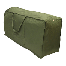 Army Green Patio Watcher Cushion Storage Bag Heavy Duty Zippered and Water Resistant Cover Storage Bag