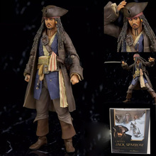 Pirates of the Caribbean Variant Jack Action Figure 1/8 scale painted figure Variable Captain Jack Sparrow PVC figure Toy Anime(China)