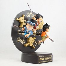 2015 Promotion Dragon Ball Wolf Anime Wholesale One Piece Ace Rewards The Three For Brothers Wang Lufei Saab Childhood Doll Toys