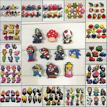 5000PCS Free DHL/EMS Mixed Avengers Hello Kitty Princess Star Wars Pikachu PVC Shoe Charms,Shoe Buckles Fit Bracelets Croc