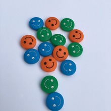 Wholesales 200 pcs New quality colors smiles Tennis Damper Shock Absorber to Reduce Tenis Racquet Vibration Dampeners