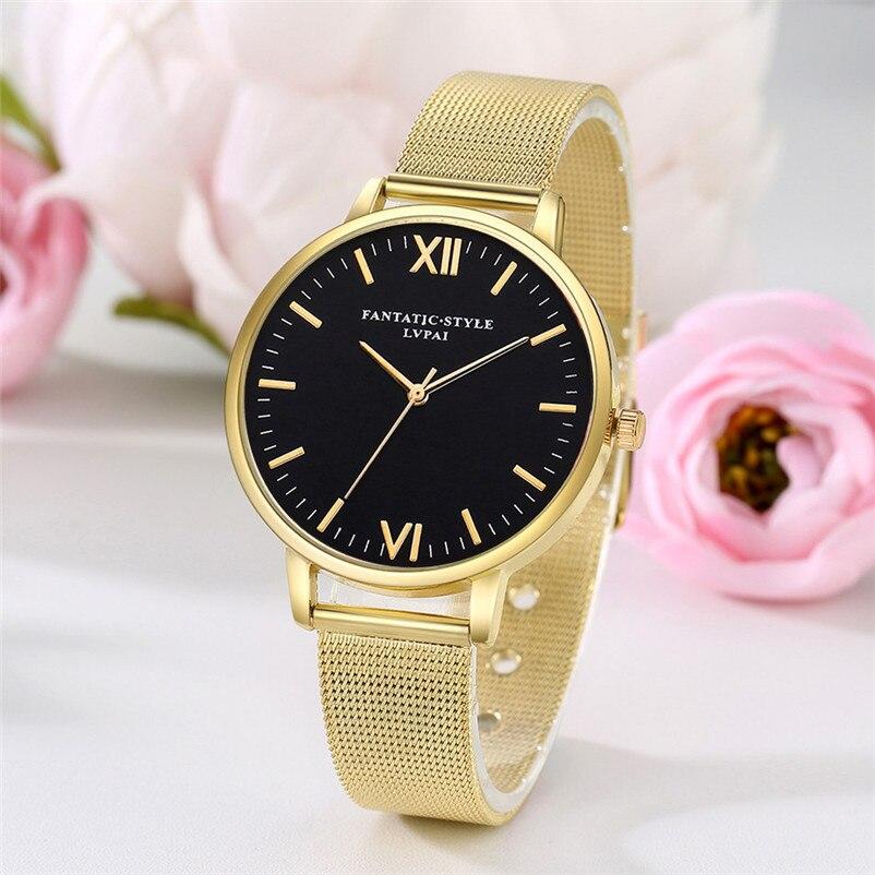 2018 High Quality Women's watches brand luxury fashion ladies watch Quartz Wristwatch Clock Ladies Dress Watches Reloj J27#N (10)