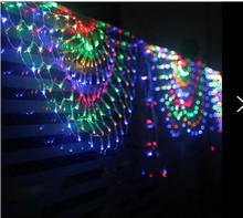 furnishing store decoration birthday party supplies furnished Decoration LED lights net lights peacock lamp 504 peacock network