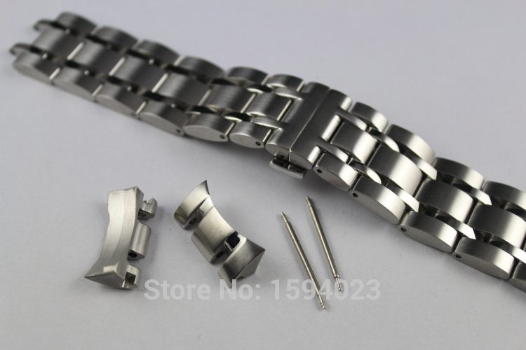 23mm T035617 T035439 New Watch Parts Male Solid Stainless steel bracelet strap Watch Bands For T035<br>