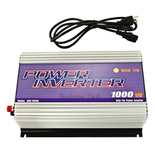 1000W Grid Tie Solar Inverter,22-60V/45-90V DC to 120V  230V AC  MPPT function,Pure Sine Wave output current,CE