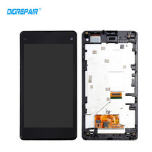 Buy DigRepair Black White Sony Xperia Z1 Mini Compact D5503 M51W LCD Display Touch Screen Assembly+Bezel Frame, Free for $27.55 in AliExpress store