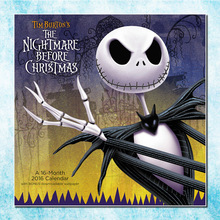 The nightmare Before Christmas Art Silk Canvas Poster Print 13x13 24x24 inch Cartoon Movie Picture for Home Decor(more)-4(China)