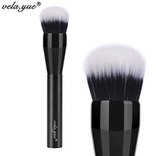 vela.yue Domed Stippling Brush Duo Fiber Versatile Makeup Brush for Face Cheek Powder Foundation Bronzer Blush Makeup Tools(Hong Kong)