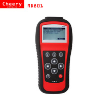Free Shipping MD801 maxidiag scan tool JP701 + EU702 + US703 + FR704 MD 801 OBDII Car Diagnostic scanner OBD2 code reader ABS(China)