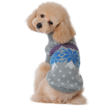 Christmas Snowflake Sweater Dog Sweater Pet Clothes Small Puppy Custome Apparel(China)