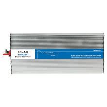 Power 1500W DC Input 12V 24V 48V AC Output 110V 220V Pure Sine Wave Grid Tie Inverter custom solar LED Display watt volt