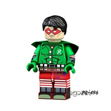 1PCS model building blocks action figures starwars superheroes Robin classic learning education girl diy toys for children gift(China)