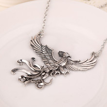 "Harry's ""Flying Phoenix"" Pendant necklace Dedicated people like Phoenix, for all occasions, the best gift free shipping"