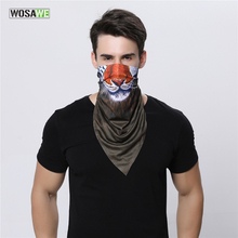 WOSAWE Breathable Speed Dry Outdoor Sports Cycling Mask Full face Riding Mask Tactical Head Cover Motorcycle UV Protect Scarf