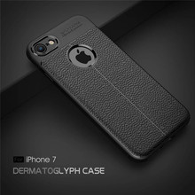 Slim Soft Rugged Case for Iphone X 8 7 6 6S Plus 5 5s se Samsung Galaxy S8 Plus Note 8 Rubber Silicone Case Cover Cases Business