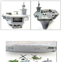 1pc/lot Cruiser/Aircraft Carrier Toys Model Airplane Kids Toys Action Figures Miniatura 1:800 Model Toys Gift Boxed 44cm