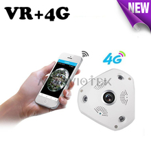 3G/4G LTE wireless IP Camera sim card 3MP 360 degree ip ptz camera alarm vr camera surveillance 960P camcorder with SD Card Slot