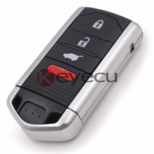 Smart Remote Key Fob 3+1 Button 313.8Mhz for 2010-2013 Acura ZDX FCC ID M3N5WY8145 Drive 2(China)