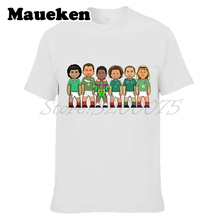 Men's legends Gerardo Torrado Jared Borgetti Hugo Sanchez mexico Cuauhtemoc Luis Hernandez Jorge Campos T-shirt tee W0523096(China)