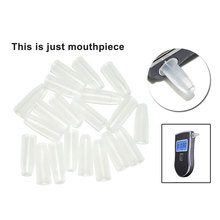 50pcs/lot Digital Breath Alcohol Tester Breathalyzer mouthpiece wholesale Freeshipping Dropshipping(China)