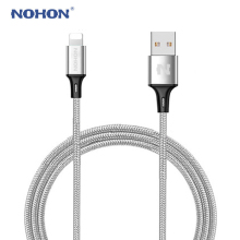 Original NOHON 8pin USB Cable For iPhone 7 7Plus 6 6S Plus 5 5S 5C iOS 10 9 8 iPad iPod Fast Charging Cable Data Sync Wire