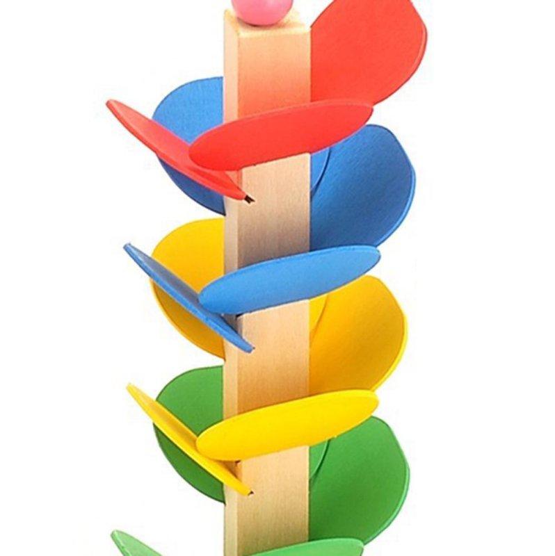 Wooden Montessori Educational Blocks Tree Game 4