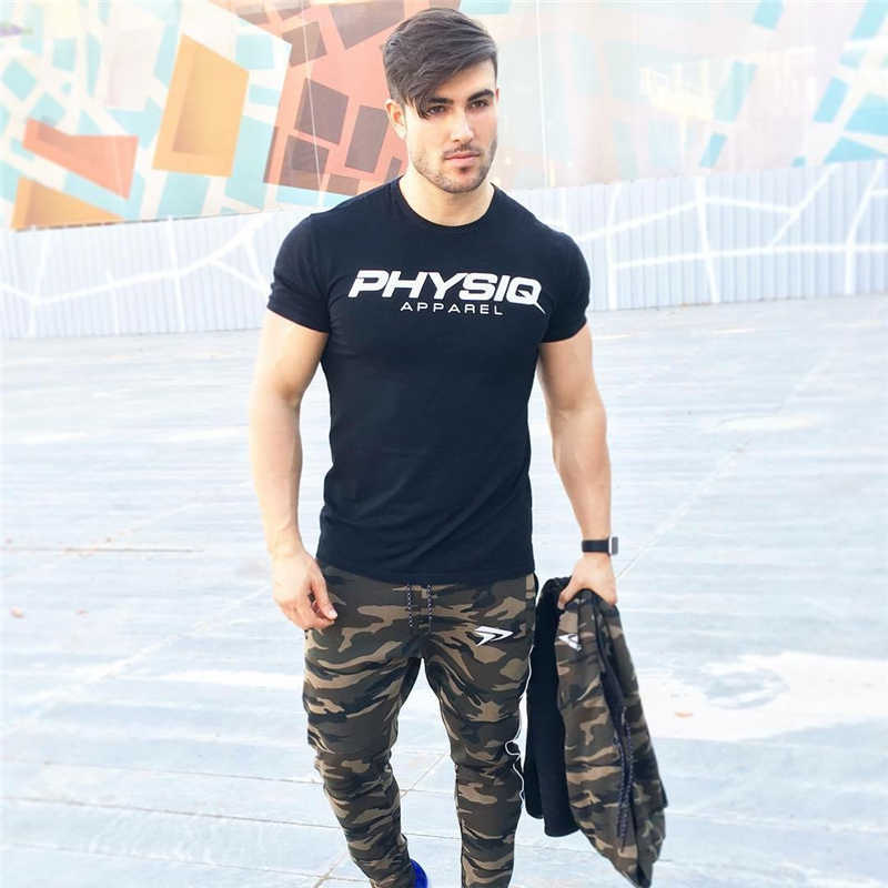 GYMOHYEAH NEW pants Men's High quality workout bodybuilding clothing casual camouflage sweatpants joggers pants skinny trousers 6