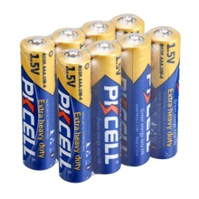 General 8 pcs New AAA Battery R03P 1.5V 3a Carbon Dry Batteries Primary Battery for remote control & toothbrushes(China)