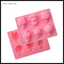 Hot sell free shipping silicone candy molds easter bunny silicone mold fondant animal making chocolate shapes