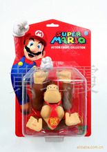 "6"" 14CM Super Mario Bros Donkey Kong PVC Action Figure Collection Model Toy Doll  New SM006"